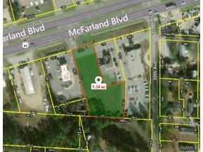 Property for sale at 00 Mcfarland Boulevard, Northport,  AL 35476