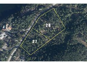 Property for sale at LT27&28 SAKINAW Drive, Garden Bay,  British Columbia V0N 1S1