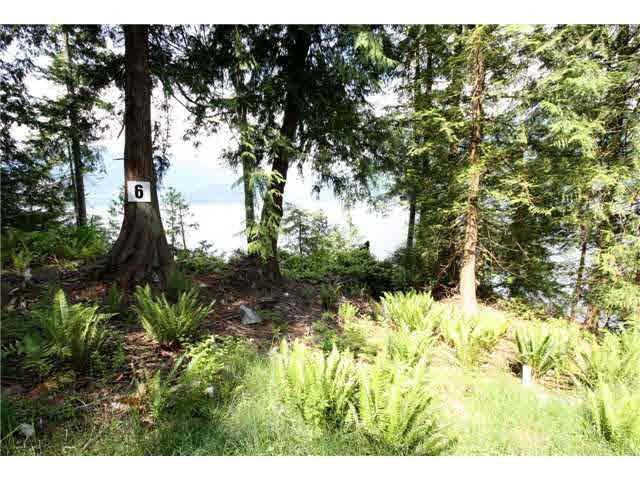 Photo of home for sale at Lot 6 WITHERBY POINT, Gibsons BC