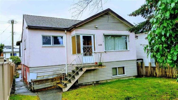 Photo of home for sale at 4426 KNIGHT, Vancouver BC