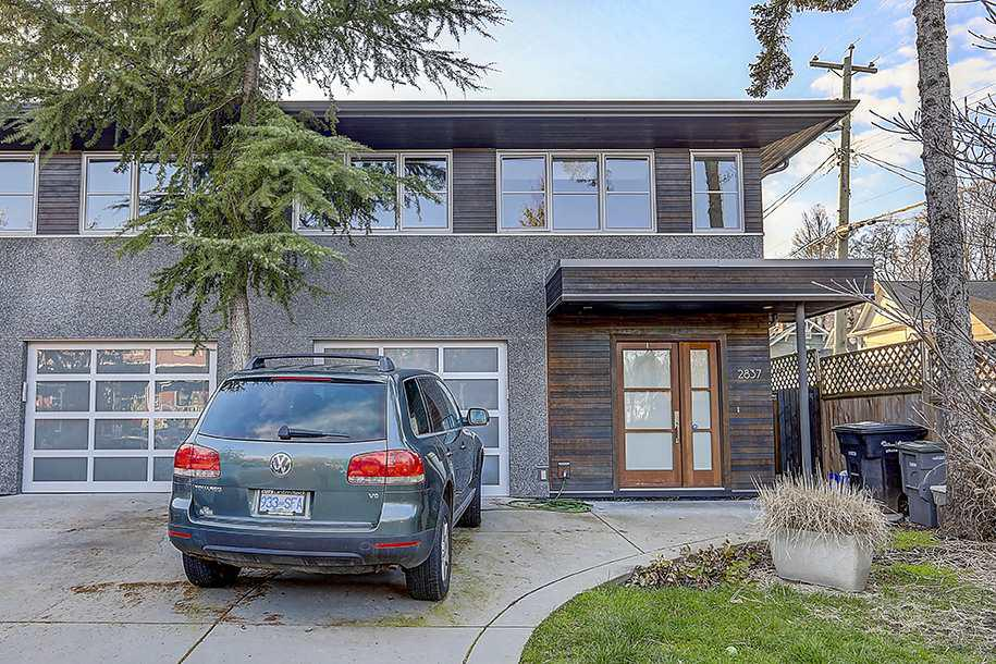 Photo of home for sale at 2837 ST. GEORGE, Vancouver BC