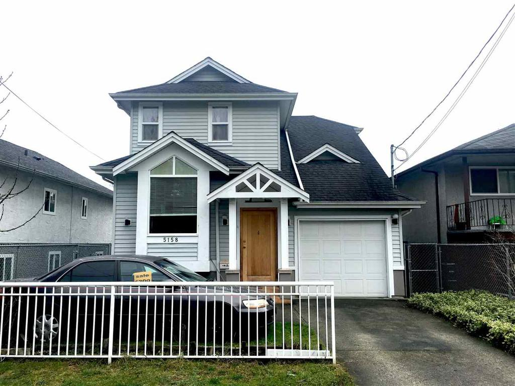 Photo of home for sale at 5158 MOSS, Vancouver BC