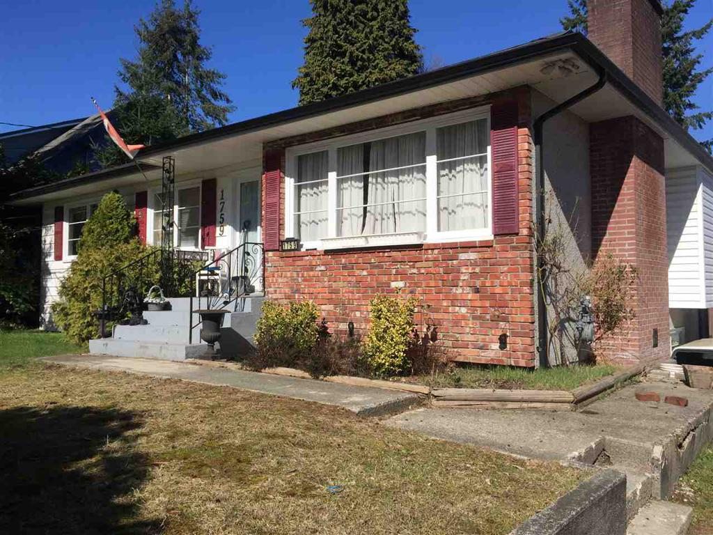 Photo of home for sale at 1759 PRAIRIE, Port Coquitlam BC