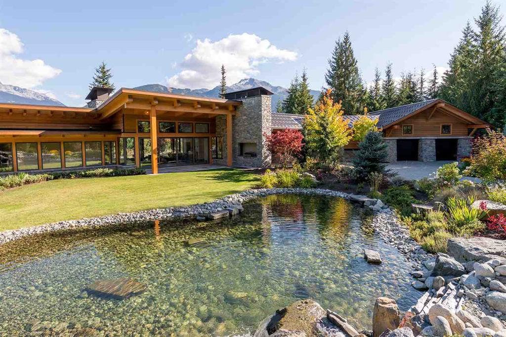 Photo of home for sale at 5468 STONEBRIDGE, Whistler BC
