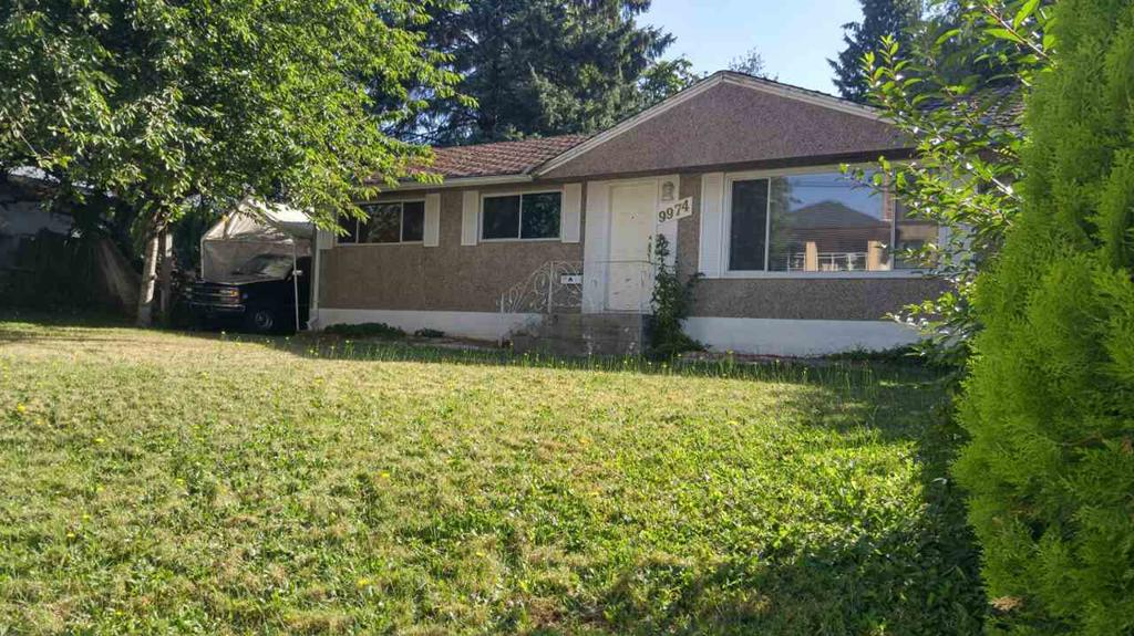 Photo of home for sale at 9974 138, Surrey BC