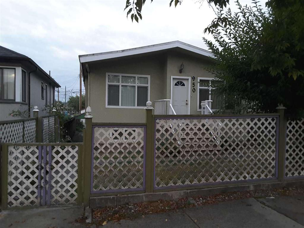 Photo of home for sale at 950 NANAIMO, Vancouver BC