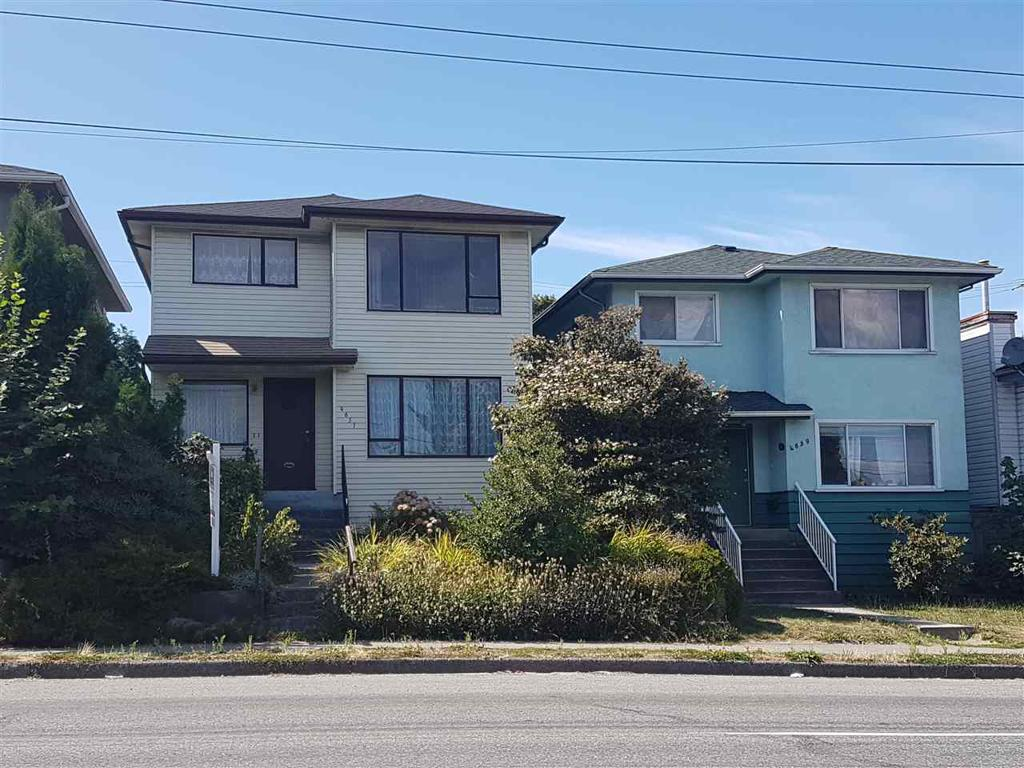 Photo of home for sale at 4651 FRASER, Vancouver BC