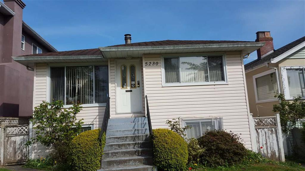 Photo of home for sale at 5230 RHODES, Vancouver BC