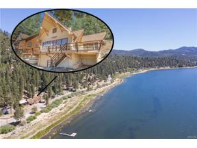 Property for sale at 38700 N Shore Drive, Fawnskin,  CA 92333