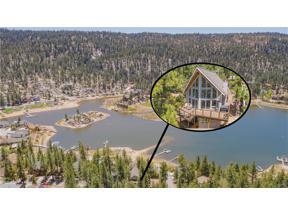 Property for sale at 38993 Bayview Lane, Big Bear Lake,  California 92315