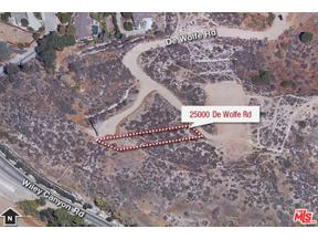 Property for sale at 25000 DE WOLFE RD, Newhall,  California 91321