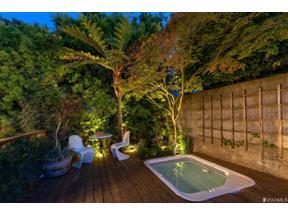Property for sale at 58 Alpine Terrace Unit: 58, San Francisco,  California 94117