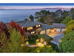Property for sale at 3300 Paradise Drive, Tiburon,  California 94920
