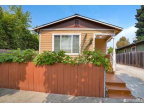 Property for sale at 1278 61st Street, Emeryville, California 94608