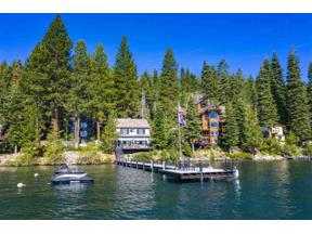 Property for sale at 4762 North Lake Boulevard, Carnelian Bay,  California 96140