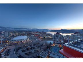 Property for sale at #1802 1151 Sunset Drive,, Kelowna, British Columbia V1Y9Z5