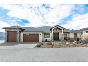Property for sale at 1474 Pinot Noir Drive,, West Kelowna,  British Columbia V4T3H9