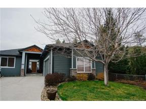 Property for sale at 2039 Cornerstone Drive,, West Kelowna,  British Columbia V4T2Y3