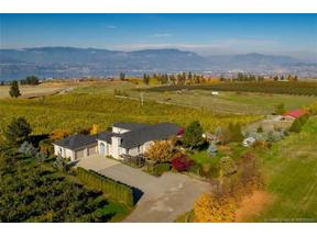 Property for sale at 1690 Saucier Road,, Kelowna, British Columbia V1W3C4