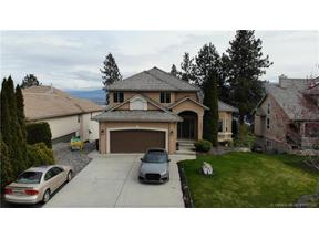 Property for sale at 3491 Ridge Boulevard,, West Kelowna,  British Columbia V4T2T1