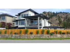 Property for sale at 1611 Pinot Noir Drive,, West Kelowna,  British Columbia V4T3B5