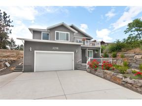 Property for sale at 2218 Upper Sundance Drive,, West Kelowna,  British Columbia V4T1S6