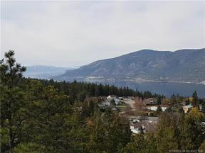 Property for sale at Lot B Cemetery Road,, Lake Country,  British Columbia V4V1J8