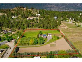 Property for sale at 2132 Monte Carlo Road,, Lake Country,  British Columbia V4V1K6