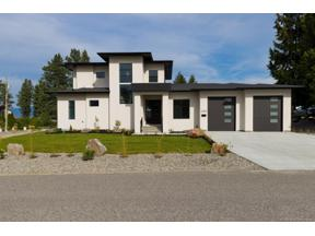 Property for sale at 2205 Thacker Drive,, West Kelowna,  British Columbia V1Z1V4