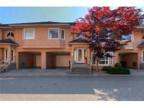 Property for sale at #12 2425 Mount Baldy Drive,, Kelowna, British Columbia V1V1Z3