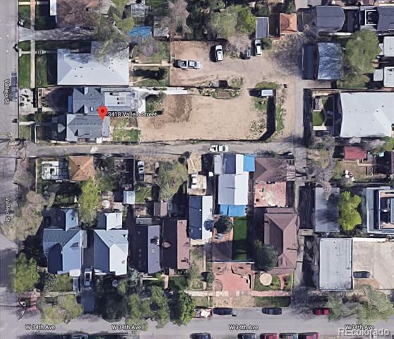Photo of home for sale at 3418 Vallejo Street, Denver CO