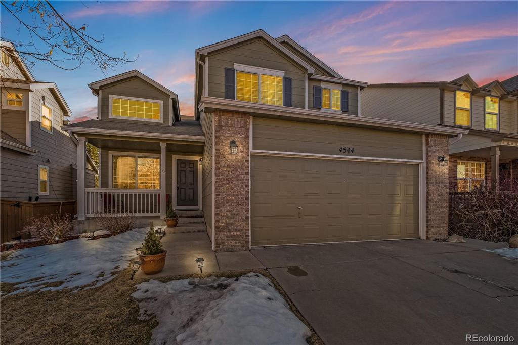 Photo of home for sale at 4544 Ketchwood Circle, Highlands Ranch CO