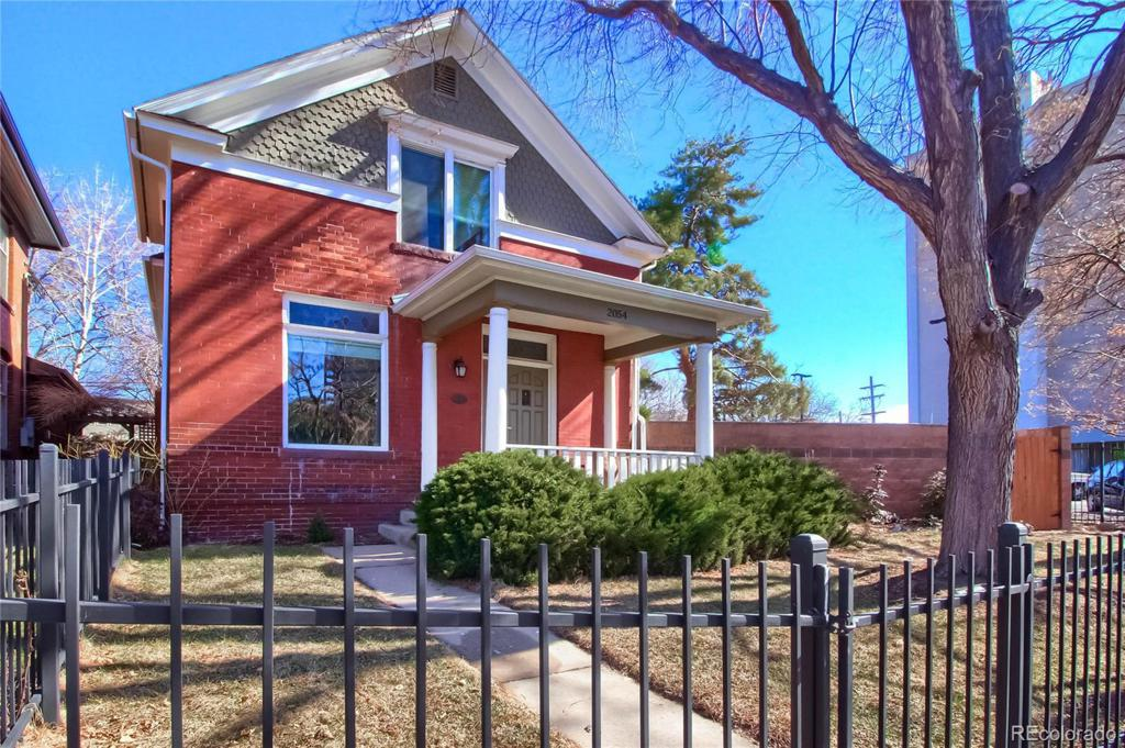 Photo of home for sale at 2054 Clarkson Street, Denver CO