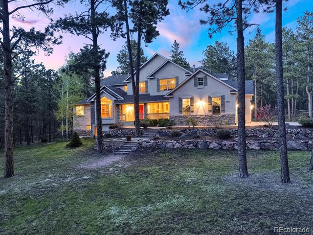 Photo of home for sale at 4470 Wavy Oak Drive, Colorado Springs CO