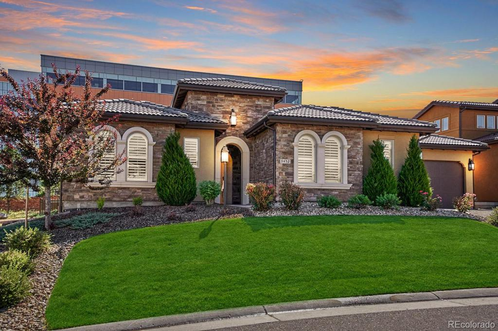 Photo of home for sale at 9452 Winding Hill Avenue E, Lone Tree CO