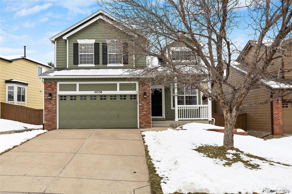 Photo of home for sale at 10338 Rotherwood Circle, Highlands Ranch CO
