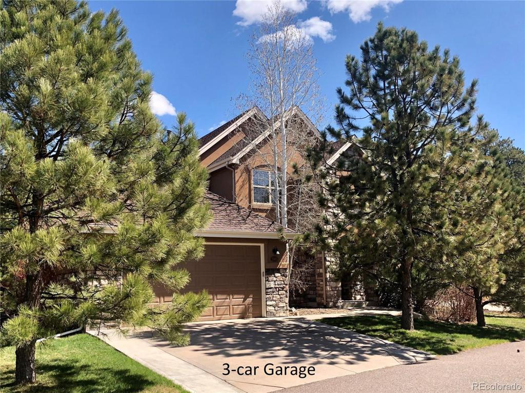 Photo of home for sale at 3303 Country Club Parkway, Castle Rock CO