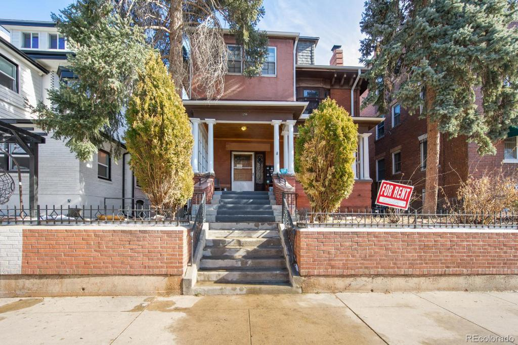 Photo of home for sale at 1256 Lafayette Street N, Denver CO
