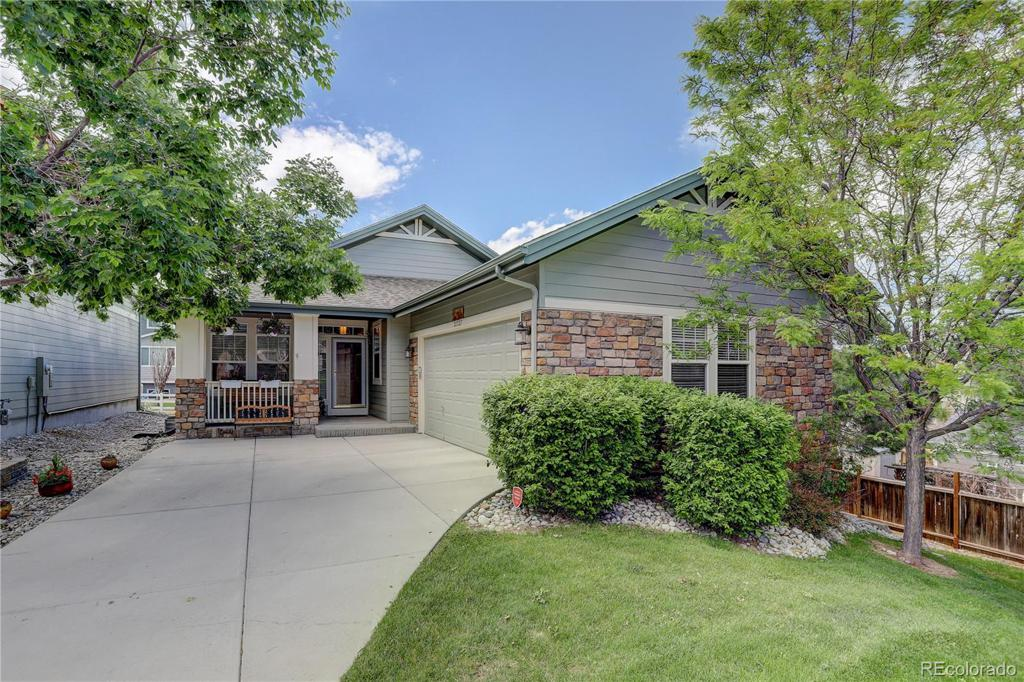 Photo of home for sale at 21527 Smoky Hill Road E, Centennial CO