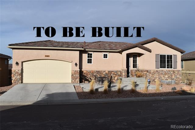 Photo of home for sale at 115 Mountain Spirit Point, Colorado Springs CO