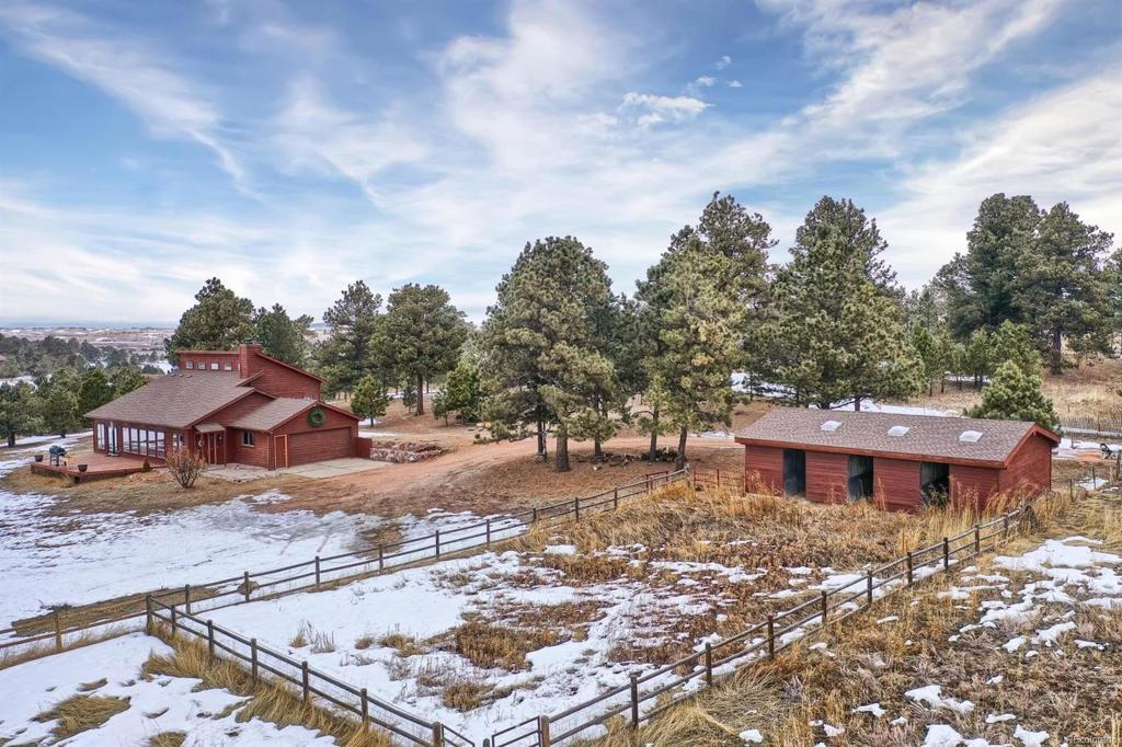 Photo of home for sale at 16170 Bar X Road, Colorado Springs CO
