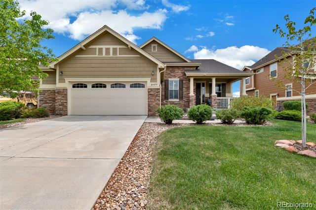 Photo of home for sale at 24420 2nd Place E, Aurora CO