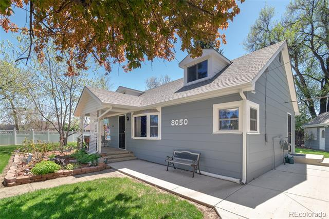 Photo of home for sale at 8050 50th Avenue W, Arvada CO
