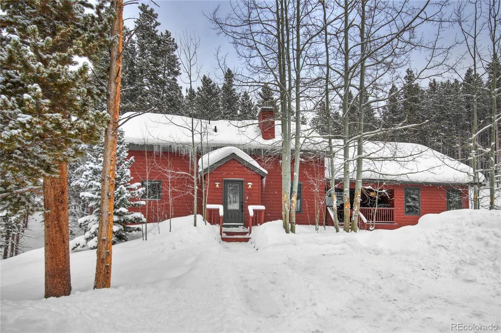 Photo of home for sale at 140 Monte Cristo Drive, Breckenridge CO