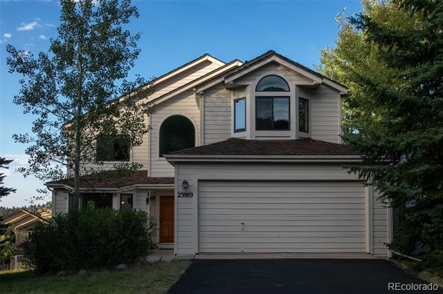 Photo of home for sale at 23989 High Meadow Drive, Golden CO
