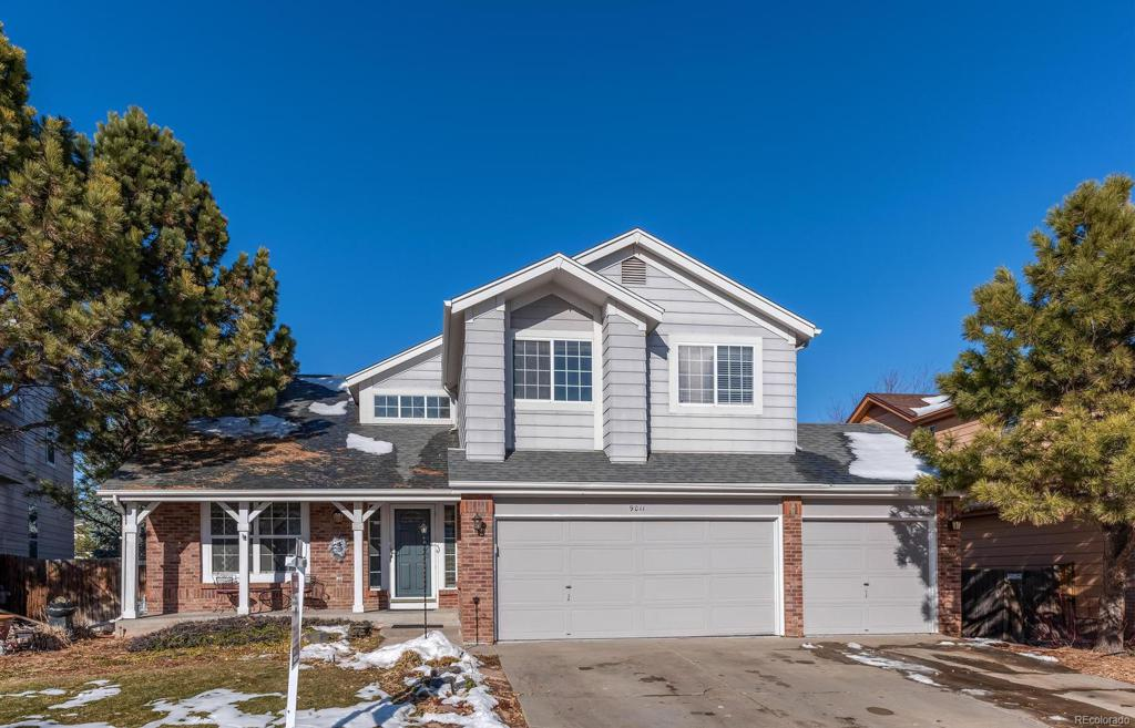 Photo of home for sale at 9011 Chatfield Drive W, Littleton CO