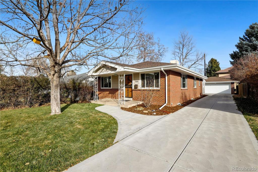 Photo of home for sale at 3180 Albion Street S, Denver CO