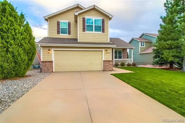 Photo of home for sale at 8194 Briar Ridge Drive, Castle Pines CO