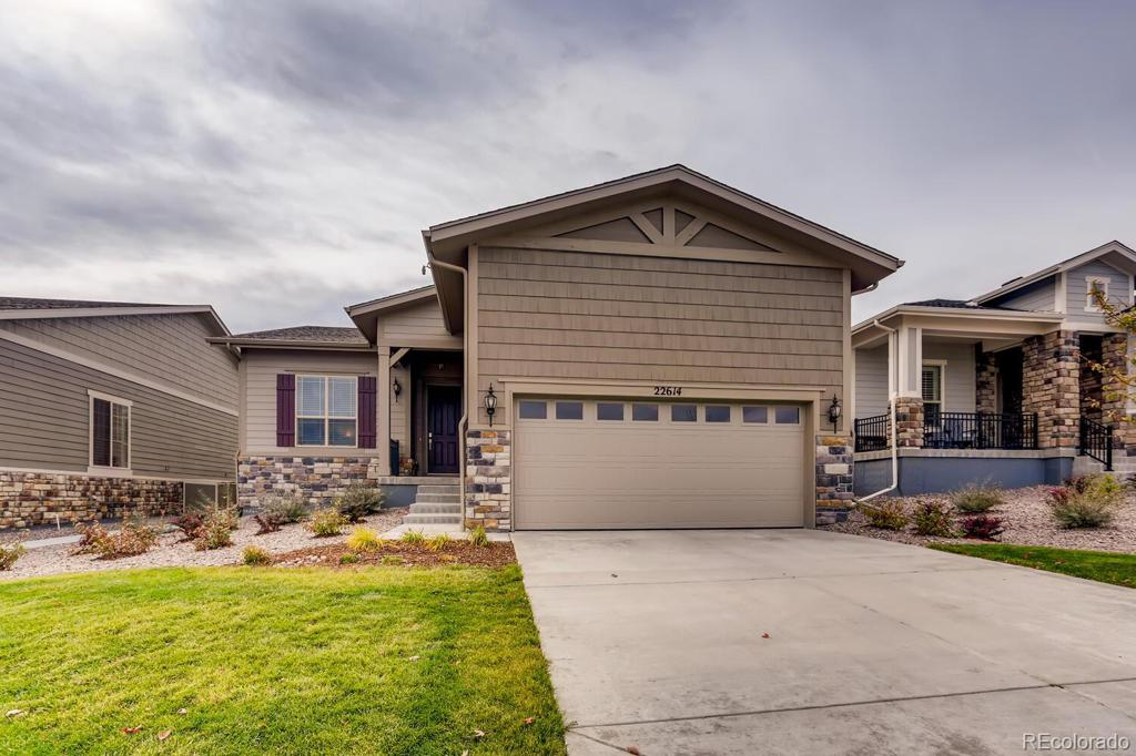 Photo of home for sale at 22614 Henderson Drive E, Aurora CO