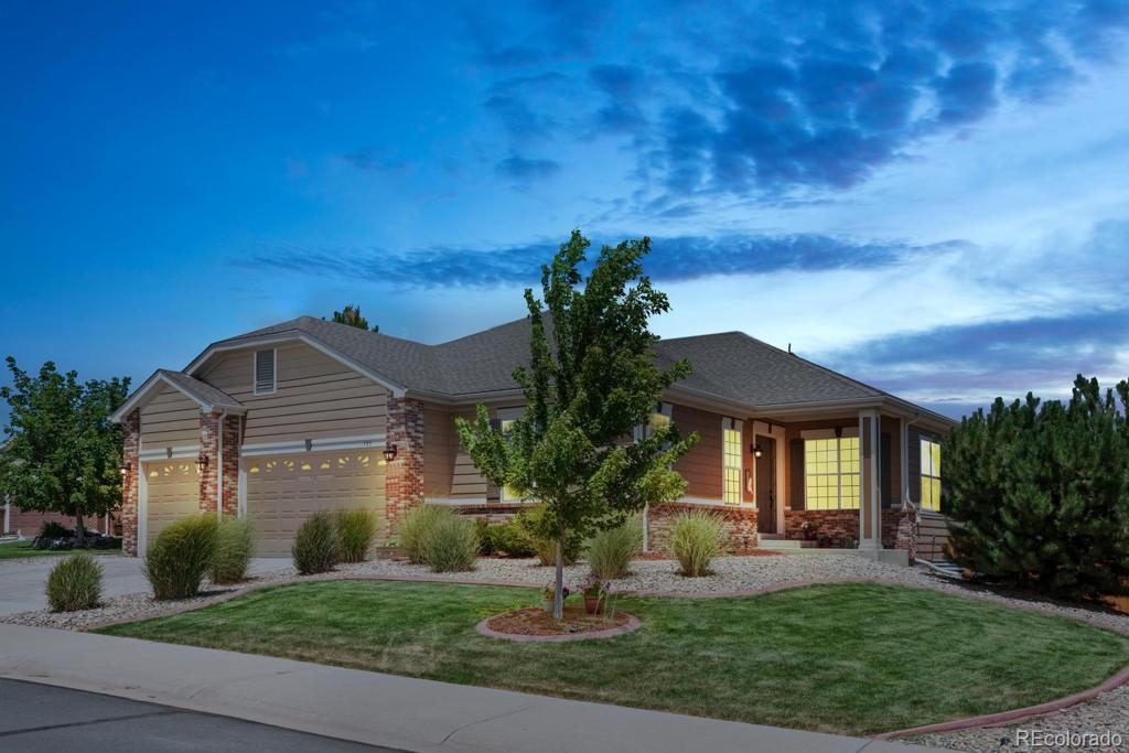 Photo of home for sale at 795 Xenon Lane, Castle Rock CO